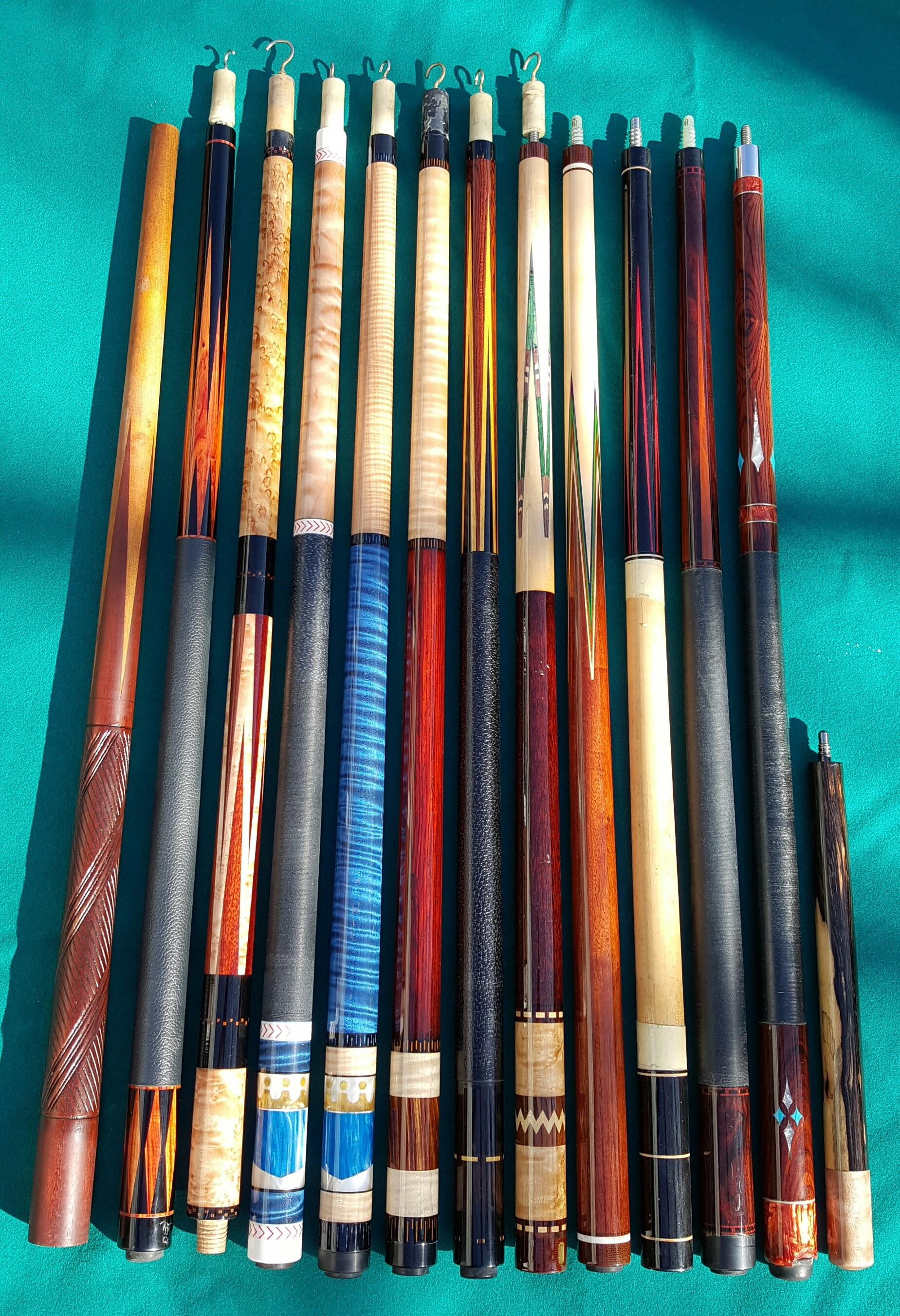Welcome to Trager Custom Cues! All of my custom cues are made from scratch  from the finest woods and highest quality materials I can find. a67e771af005